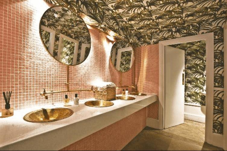 餐廳特色廁所空間