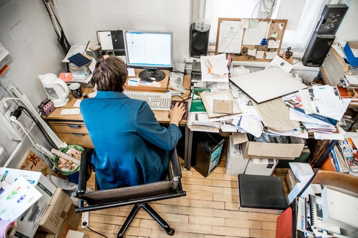 辦公室亂糟糟,工作效率怎麼會好?
