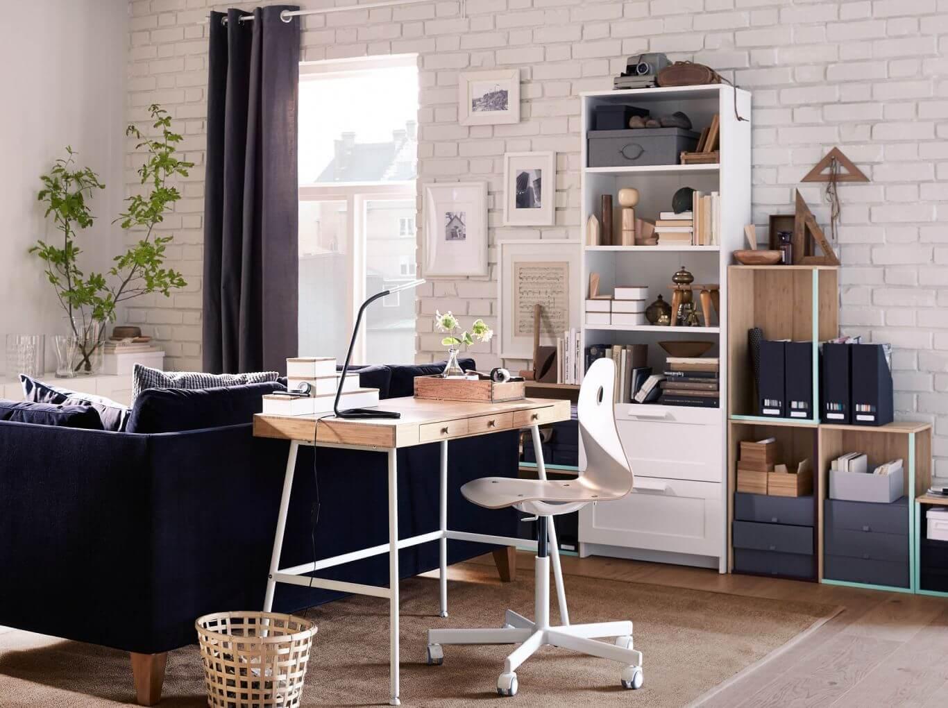 考慮好動線,或許一張桌子就能解決工作空間的問題