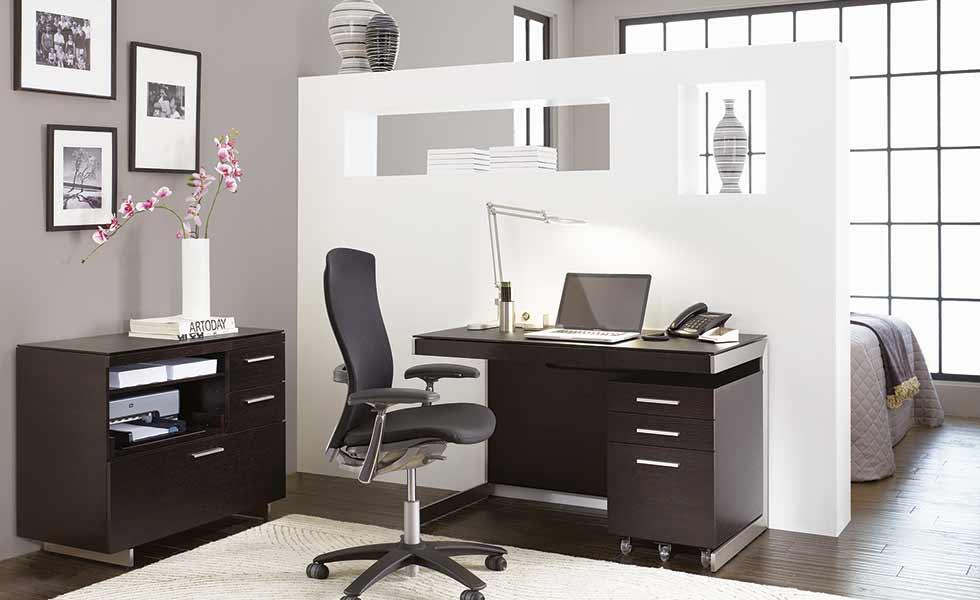 以開放隔間來區隔休息和工作最適合小空間運用