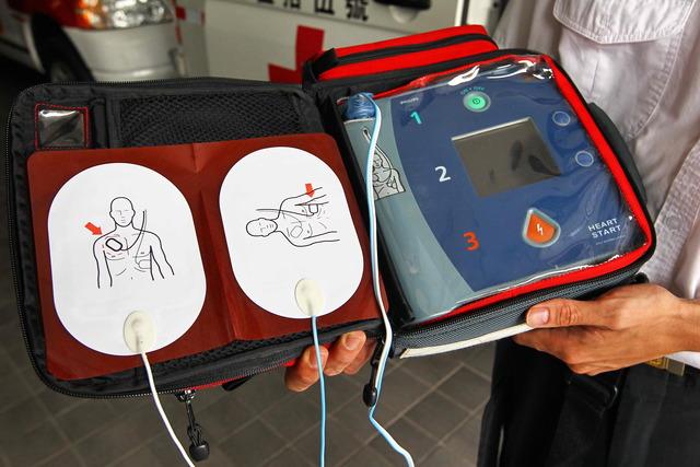各大捷運、機場、學校等皆可看見設置的AED器材