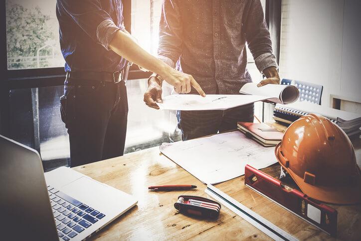 系統櫃施工過程也需要監工確保品質,以及和設計規劃一致