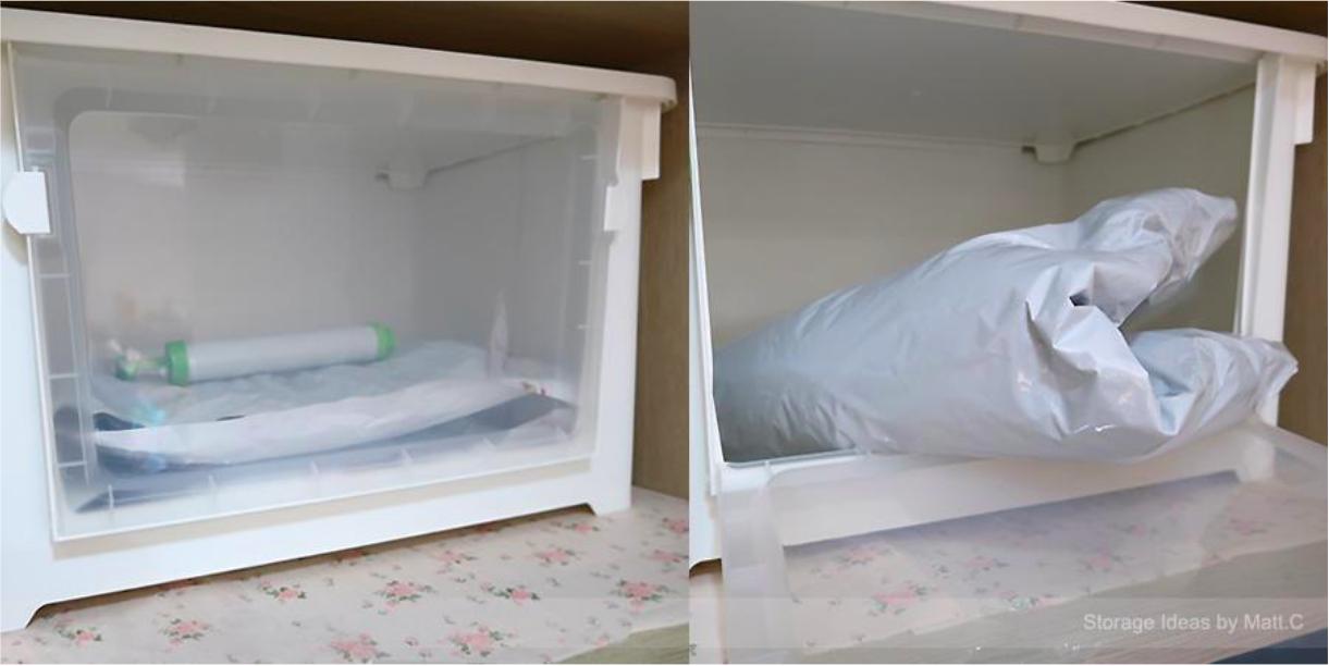 換季的衣物堆積如山,還有替換用的床被單枕套該如何整理?