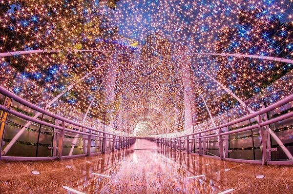 新北耶誕城:漫步星橋