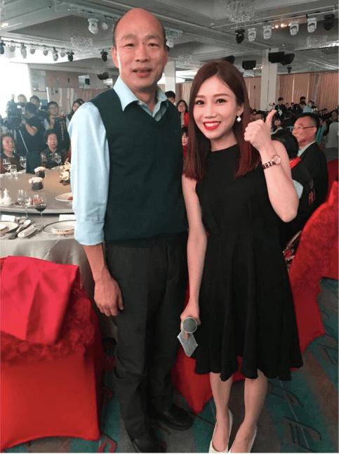 主持婚宴遇上人氣超旺的韓國瑜市長,非常考驗控場能力