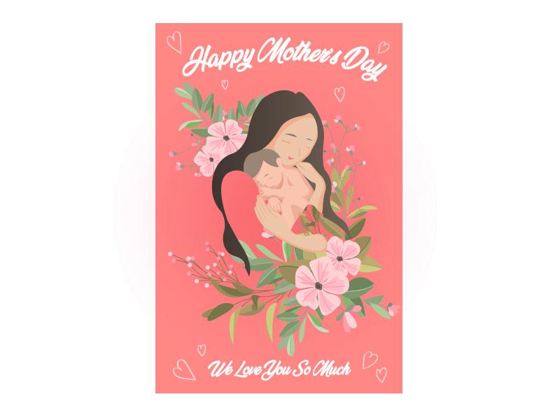 PRO360 X ibon APP X獎金獵人 創意母親節卡片設計優選獎-作者:彭彥婷
