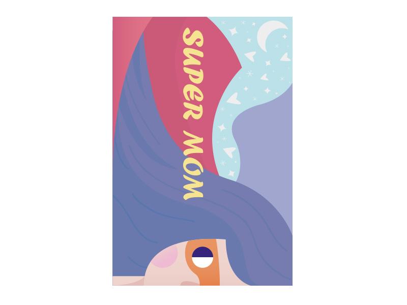 PRO360 X ibon APP X獎金獵人 創意母親節卡片設計佳作獎-作者:吳國榮