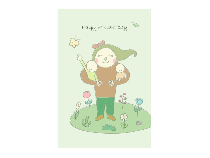 PRO360 X ibon APP X獎金獵人 創意母親節卡片設計佳作獎-作者:賀立杰