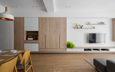 住家空間巧思改造,「一銓設計」將室內樑柱結構突兀感歸零的裝潢