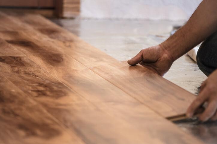 木質地板組裝工法