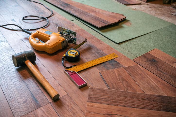 木質地板施工費用