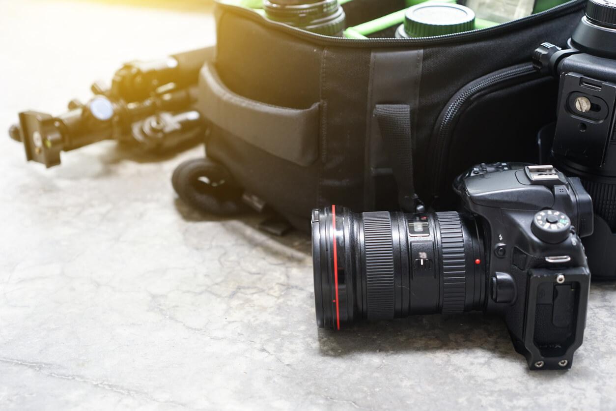 商業攝影準備的工具